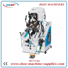 9 Pincers Automatic Cementing Toe Lasting Machine N737MA