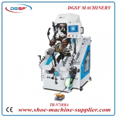 Computerized Memory Automatic Cementing Toe Lasting Machine