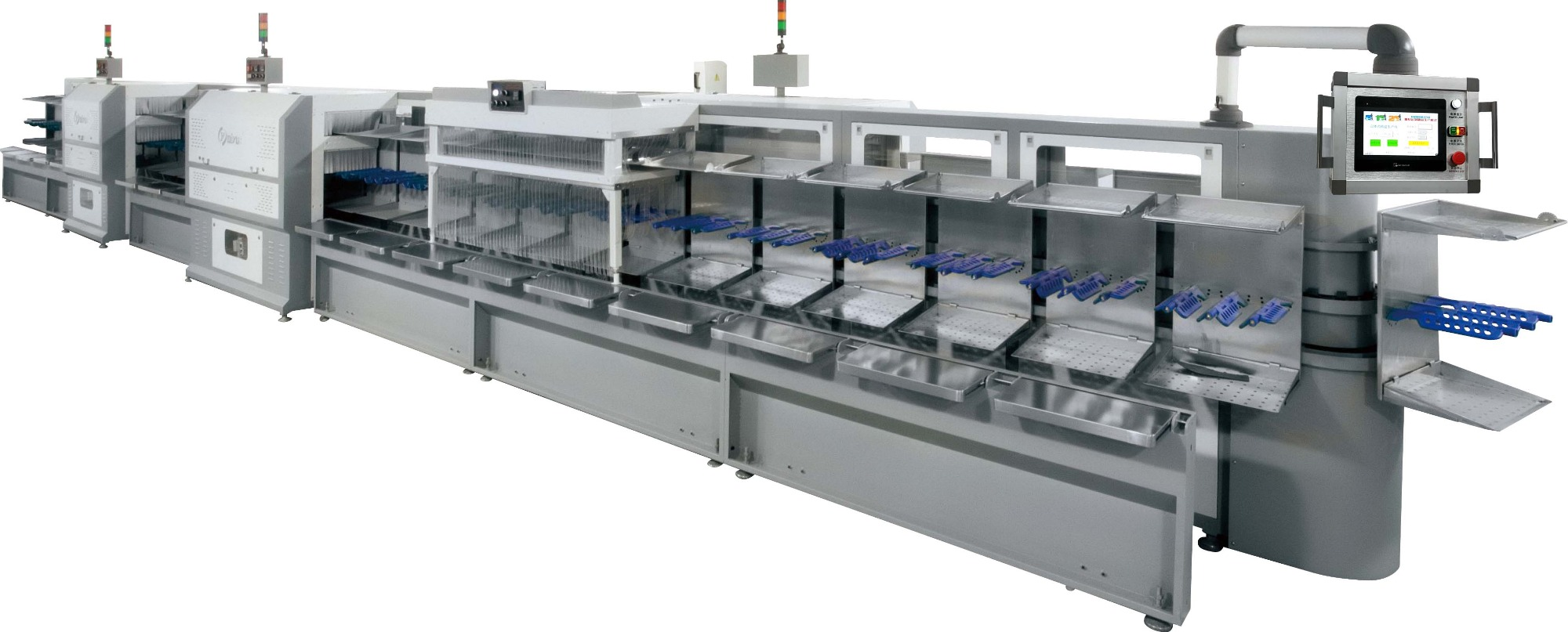 QY-533 Vertical lean production line (Standard type)